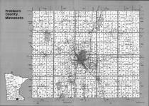 Index Map, Freeborn County 1992