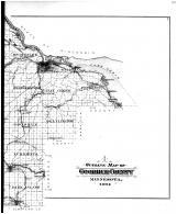Goodhue County Outline Map - Right, Goodhue County 1894 Microfilm