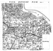 Burnside Township, Mississippi River, Cannon Jct., Goose Lake, Goodhue County 1925