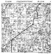 Featherstone Township, Burley, Hay Creek, Goodhue County 1925