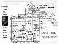 Goodhue County Map, Goodhue County 1925