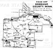 Goodhue County Road Map, Goodhue County 1925