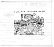 Red Wing City Township, Mud Lake, Goose Lake, Mississippi River, Goodhue County 1925