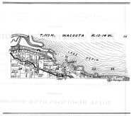 Wacouta Township, Lake Pepin, Wacouta Beach, Mississippi River, Goodhue County 1925