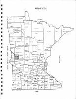 Minnesota State Map, Grant County 1974