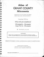 Title Page, Grant County 1974