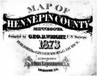 Title Page, Hennepin County 1873