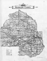 Hennepin County Map, Hennepin County 1911c