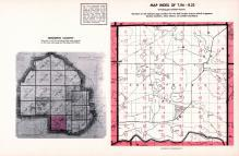 Index Map of Township 116 - Range 22, Hennepin County 1953 Revised 1963 Vol 2