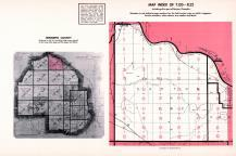 Index Map of Township 120 - Range 22, Hennepin County 1953 Revised 1963 Vol 2