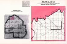 Index Map of Township 120 - Range 23, Hennepin County 1953 Revised 1963 Vol 2