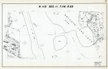 Sec 11, T 116, R 22, Bryants Long Lake, Willow Creek, Topview Acres, Hennepin County 1953 Revised 1963 Vol 2