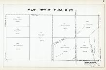 Sec 13, T 120, R 23, State Hwy No 101, Grass Lake, County Rd No 49, Hennepin County 1953 Revised 1963 Vol 2