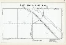 Sec 15, T 120, R 23, Great Northern RR, New State Hwy No 152, Hennepin County 1953 Revised 1963 Vol 2