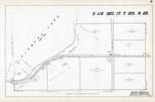 Sec 17, T 120, R 22, Diamond Lake, County Rd No 49, Hennepin County 1953 Revised 1963 Vol 2