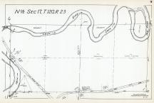 Sec 17, T 120, R 23, Crow River, State Hwy No 152, Hennepin County 1953 Revised 1963 Vol 2