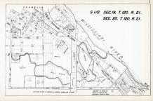 Sec 19, T 120, R 21 and Sec 20, T 120, R 21, Mill Pond, State Hwy No 218-3, Mississippi River, Hennepin County 1953 Revised 1963 Vol 2