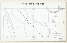 Sec 2, T 116, R 22, Bryant Long Lake, Town Road, Us Hwy No 494, Hennepin County 1953 Revised 1963 Vol 2