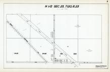 Sec 23, T 120, R 23, Great Northern RY, Co Rd No 49, State Hwy No 152, Hennepin County 1953 Revised 1963 Vol 2