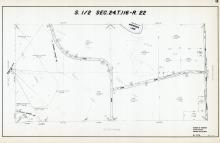Sec 24, T 116, R 22, Anderson Lake, Town Rd, County Rd No 18, Hennepin County 1953 Revised 1963 Vol 2