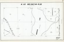 Sec 24, T 116, R 22, Anderson Lake, Town Road, County Rd No 10, Hennepin County 1953 Revised 1963 Vol 2