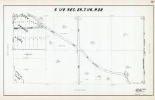 Sec 25, T 116, R 22, Eden Prairie Acres, Purgatory Creek, County Rd No 1, Hennepin County 1953 Revised 1963 Vol 2