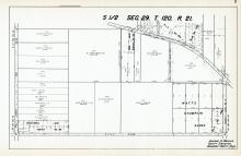 Sec 29, T 120, R 21, Watts Champlin Acres, RLS 318, RLS 172, RLS 982, RLS 780, Hennepin County 1953 Revised 1963 Vol 2