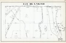 Sec 3, T 116, R 22, Minneapolis & St Louis RR, Co Rd No 60, Hennepin County 1953 Revised 1963 Vol 2
