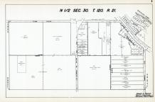 Sec 30, T 120, R 21, Brownview, US Hwy No 52-218, Sunny Banks Farm, Hennepin County 1953 Revised 1963 Vol 2