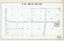 Sec 31, T 116, R 21, Bloomington Ferry Gardens, W 108th St, Old Shakopee Rd, Hennepin County 1953 Revised 1963 Vol 2