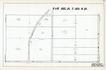 Sec 31, T 120, R 21, US Hwy No 52-218, Town Road, Hennepin County 1953 Revised 1963 Vol 2