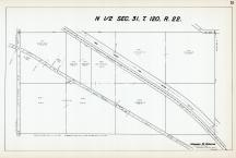 Sec 31, T 120, R 22, New State Hwy No 152, State Hwy No 101, Hennepin County 1953 Revised 1963 Vol 2