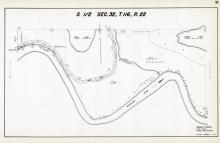 Sec 32, T 116, R 22, Rice Lake, Grass Lake, Minnesota River, Hennepin County 1953 Revised 1963 Vol 2