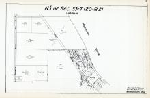 Sec 33, T 120, R 21, County Rd No 14, West River Road, West River Park, Hennepin County 1953 Revised 1963 Vol 2