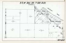 Sec 33, T 120, R 21, County Road No 14, West River Park, Auditors Subdivision No 287, Hennepin County 1953 Revised 1963 Vol 2