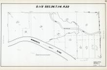 Sec 36, T 116, R 22, Minnesota River, Purgatory Creek, Hennepin County 1953 Revised 1963 Vol 2