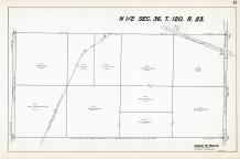 Sec 36, T 120, R 23, Co Rd No 116, State Hwy No 101, State Hwy No 152, Hennepin County 1953 Revised 1963 Vol 2