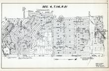 Sec 4, T 116, R 21, Brookview Heights, State Highway, James Roberts Estate, Hennepin County 1953 Revised 1963 Vol 2