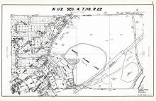 Sec 4, T 116, R 22, Birch Island Lake, Eden View, Nottingham Forest, Paradise Valley, Hennepin County 1953 Revised 1963 Vol 2