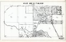 Sec 5, T 116, R 21, Creek Valley Addition, Edina Valley Estates, Bachs Add, Valley View Heights, Hennepin County 1953 Revised 1963 Vol 2
