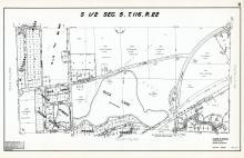 Sec 5, T 116, R 22, Duck Lake, Prairie Shores, Sunset Ridge, Padon Downs, Alpine Estates, Hennepin County 1953 Revised 1963 Vol 2