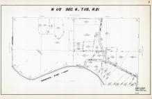 Sec 6, T 115, R 21, Minnesota River, County Rd No 18, Hennepin County 1953 Revised 1963 Vol 2