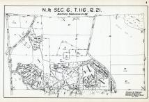 Sec 6, T 116, R 21, Auditors Subdivision No 196, Indian Hills, Cherokee Hills, State Highway, Hennepin County 1953 Revised 1963 Vol 2