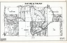 Sec 6, T 116, R 21, Auditors Subdivision Number 196, Indian Hills, Hennepin County 1953 Revised 1963 Vol 2