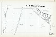 Sec 6, T 120, R 22, Crow River, Mississippi River, State Hwy No 101, Hennepin County 1953 Revised 1963 Vol 2