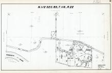 Sec 65, T 116, R 22, Reg Land Survey No 547, Minnesota River, Hennepin County 1953 Revised 1963 Vol 2