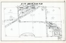 Sec 8, T 116, R 22, Prairie Shores, Round Lake, Edenwood Ridge, Estherhills Addition, Hennepin County 1953 Revised 1963 Vol 2