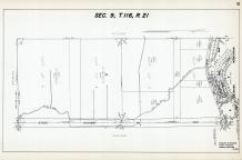 Sec 9, T 116, R 21, State Highway No 100, Brooklyn Heights, Hennepin County 1953 Revised 1963 Vol 2