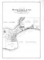 Minnetonka Lake Property, Hennepin and Ramsey Counties 1898