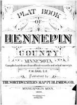 Title Page, Hennepin and Ramsey Counties 1898